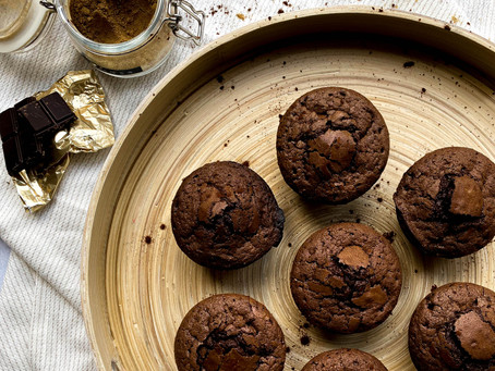 Brown Butter & Ginger Brownie Cakes