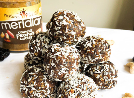 Peanut Butter Center Protein Balls