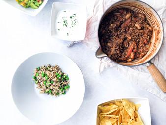 Chilli Con Carne with Guacamole
