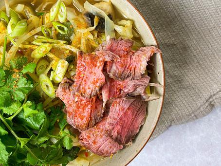 Leftover Beef Ramen