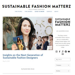 Dyeluxe: Sustainable Fashion Matterz Article