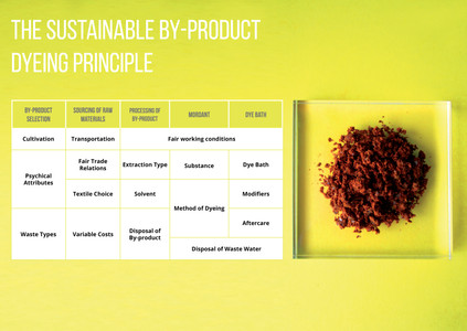 The Sustainable By-product Dyeing Principle (SBDP)