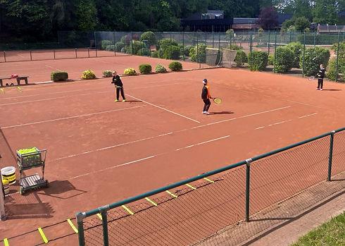 Basistraining für Jugendliche - Spaß haben, Freizeit gestalten, Tennis spielen