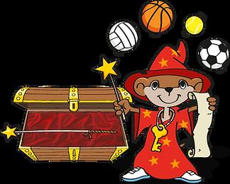 Talentino Ballmagier - Vom Zauberlehrling zum großen Ballmagier. Tennis lernen wie von Zauberhand, spielend leicht mit dem Talentino Ballmagier, für alle Kinder ab 4 Jahren.