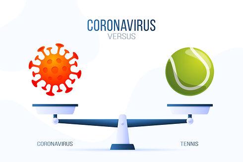 Coronavirus - Tennis darf auch im Januar weiterhin gespielt werden