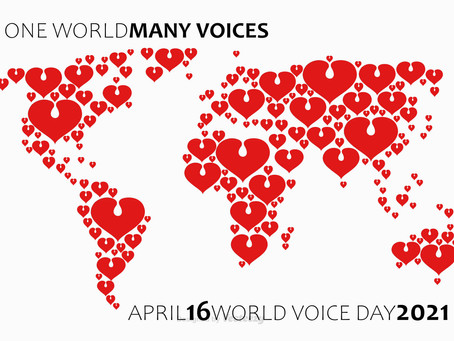 World Voice Day and final 12twelve12