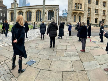 #SingLive at the Tower of London a TikTok Success!