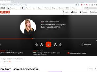 BBC Radio Cambs Interview