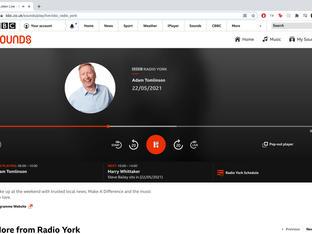 BBC Radio York Interview