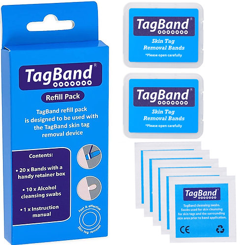 TagBand Refill Bands for Medium/Large Skin Tags