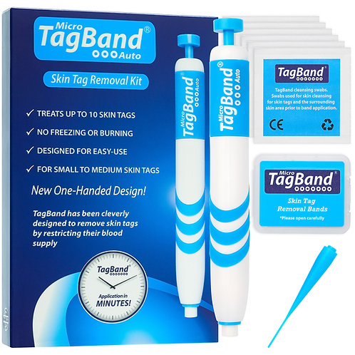 Micro Auto TagBand Skin Tag Removal Kit