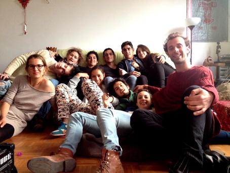 2014-15. Rencontre, Traduction et Entre, Del gesto teatral como esporoforo