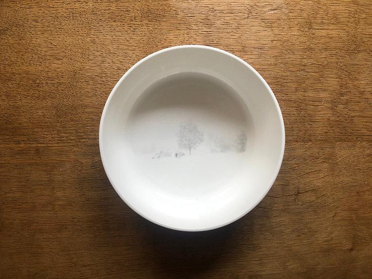 Le plat - Sous la neige
