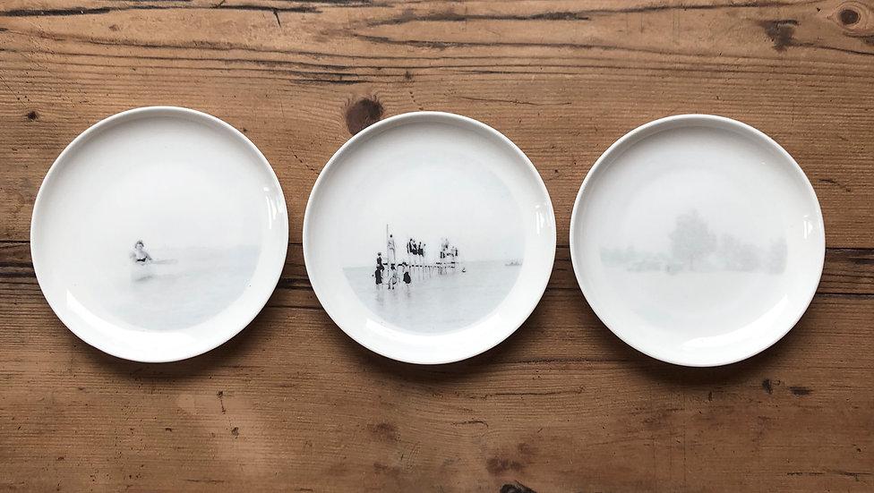 Petite assiette paysages