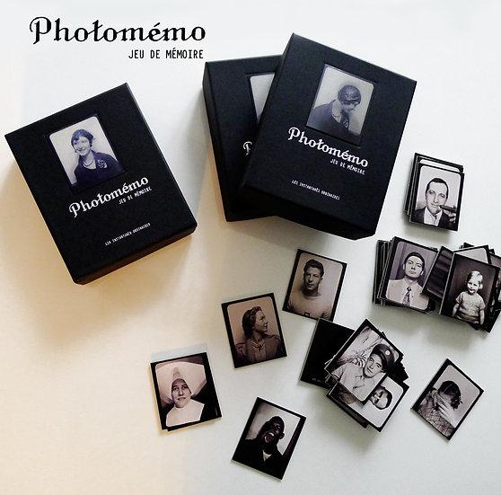Jeu de memory Le Photomémo