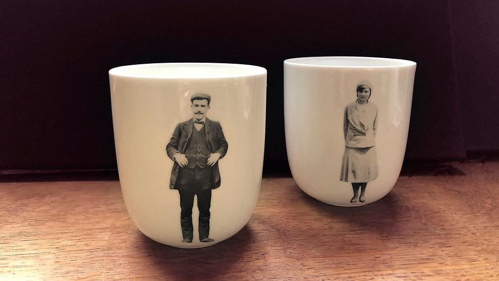 Les mugs, homme et femme