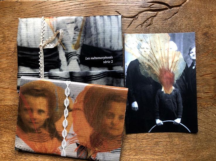 """Cartes postales """"Les métamorphosés"""" série 2"""