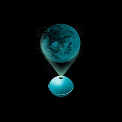 Planet Projector Blue