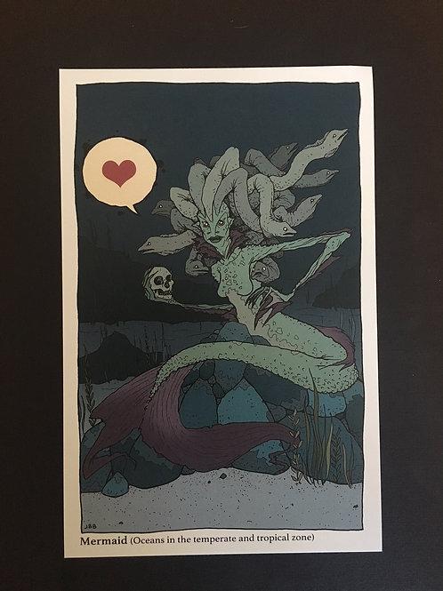 mermaid print