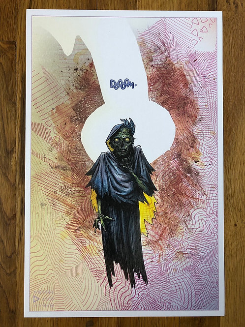 "doom 11""x17"" print"