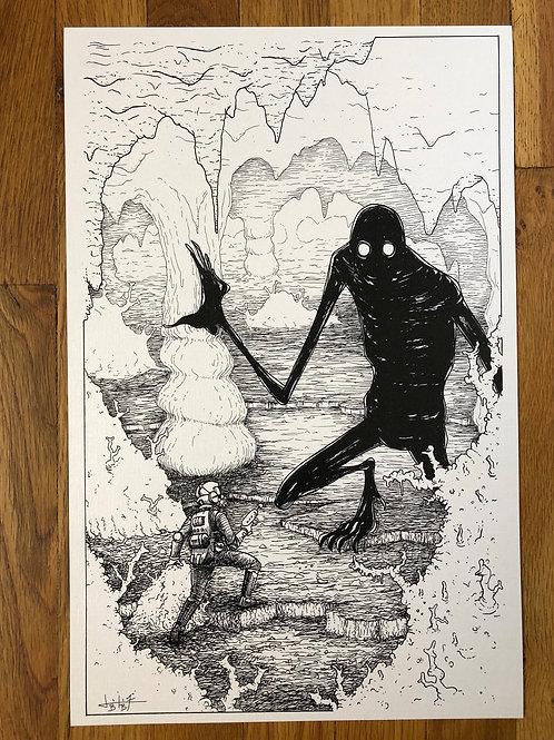 "explore 11""x17"" print"