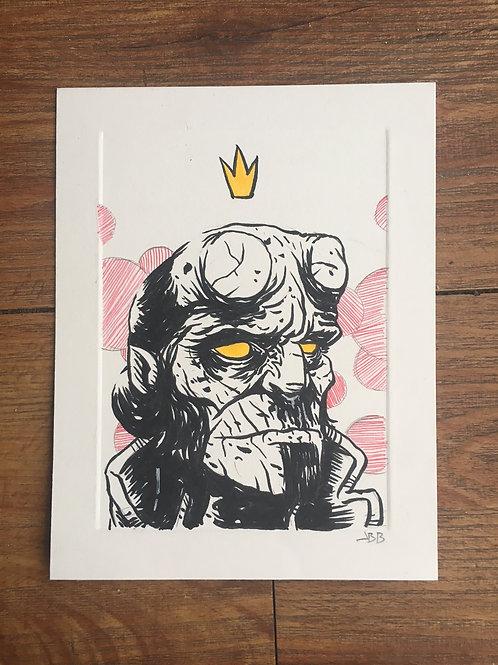 hellboy (fancy)