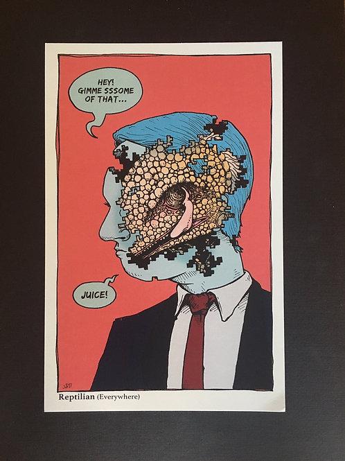 reptilian print
