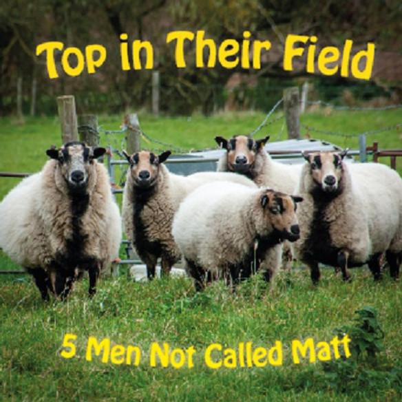 Five men Not Called Matt CD Launch
