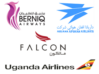 New Customers: Berniq Airways, Uganda Airlines, Falcon Aviation Services and Ariana Afghan Airlines