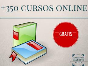 +350 cursos online gratis!!