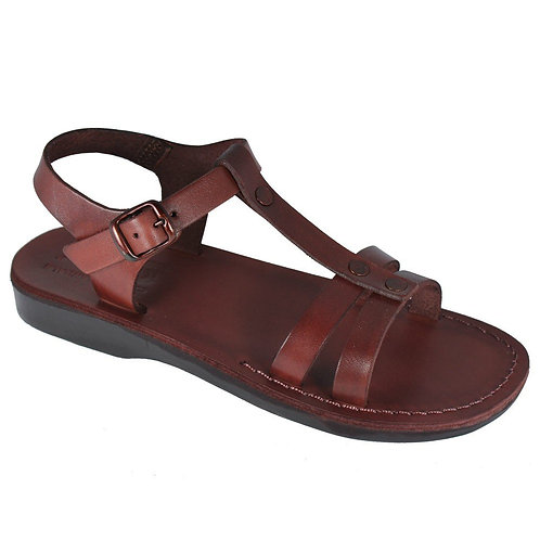 Brown Oliver Leather Sandals For Men & Women