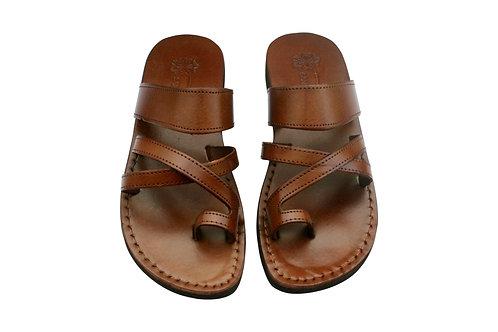 Vegan Brown Bath Handmade Sandals For Men & Women