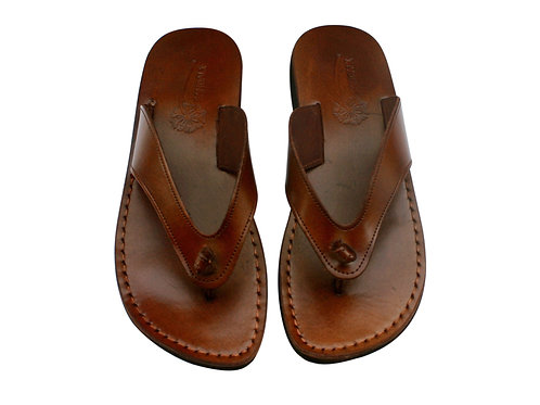 Vegan Brown Surf Handmade Sandals For Men & Women