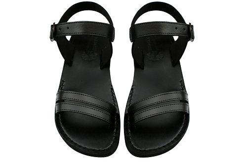 Vegan Black Hammer Handmade Sandals For Men & Women