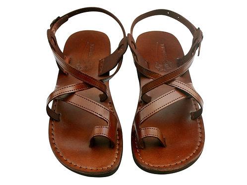 Vegan Brown Roxy Handmade Sandals For Men & Women
