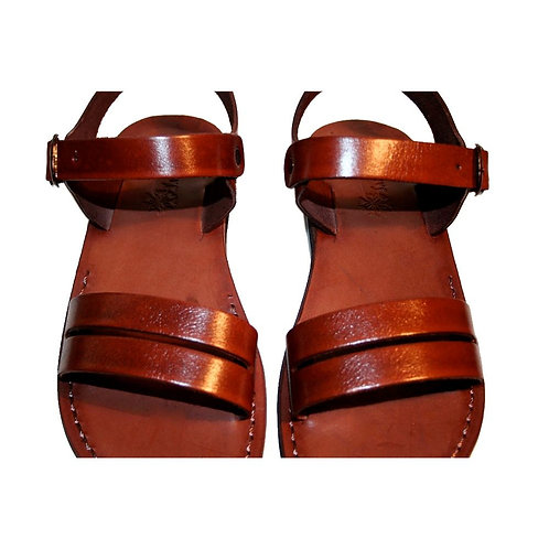 Brown Hammer Leather Sandals For Men & Women