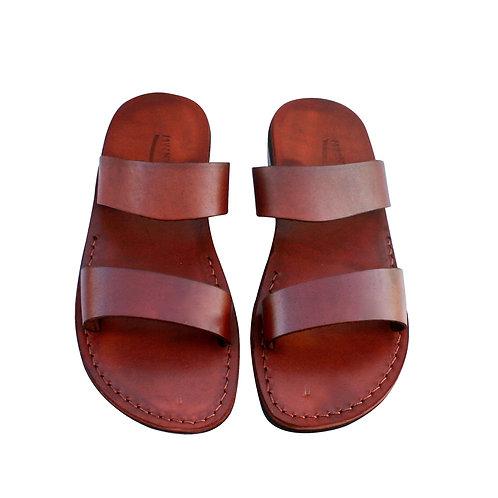 Brown Bio Leather Sandals For Men & Women