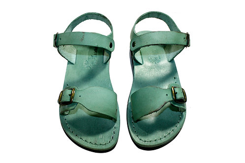 Green Eclipse Leather Sandals For Men & Women