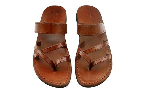 Vegan Brown Moon Handmade Sandals For Men & Women