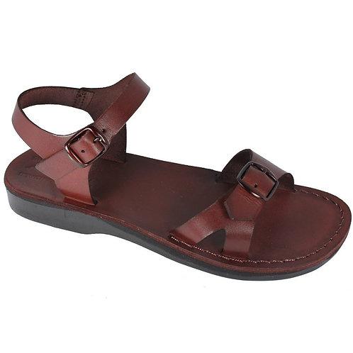 Brown Billa Leather Sandals For Men & Women