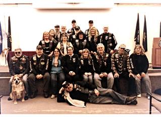 Rolling Thunder NH 2 Members at White River Junction, VT VA