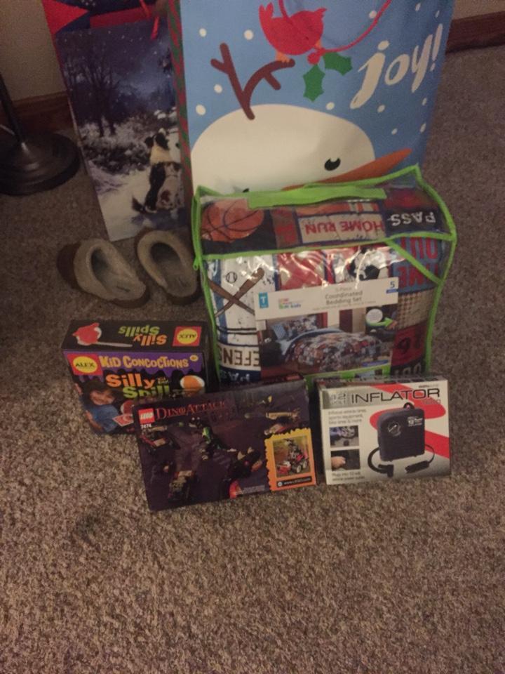 2017 Christmas Donations