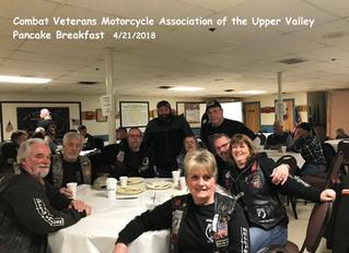 Combat Veterans Motorcycle Association of the Upper Valley ~ Pancake Breakfast