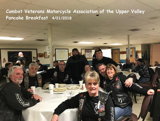 Combat Veterans Motorcycle Association of the Upper Valley ~ Pancake Breakfast