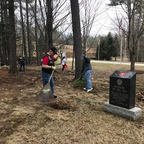 2019.04.14 Veteran's Cemetery Cleanup.1.