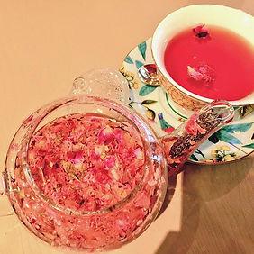 世にも美しいバラの紅茶 #ローズティー  #薔薇の紅茶  #紅茶  #バラ #カ