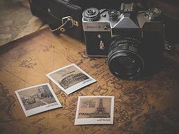 fotoaparát a fotografie z cest