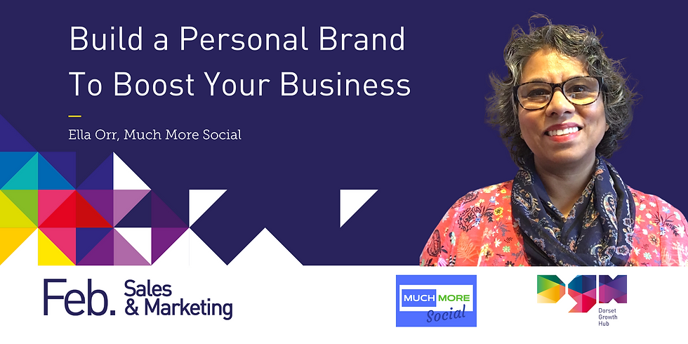 Build a Personal Brand To Boost Your Business