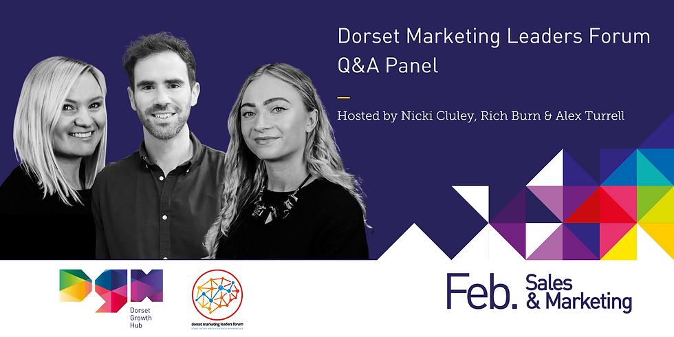 Dorset Marketing Leaders Forum - Q&A Panel