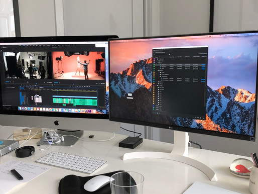 Post-production has officially begun!